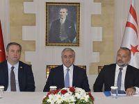 Akıncı, İzmir Buca Belediye Başkanı Levent Piriştina ve Beraberindeki Heyeti kabul etti