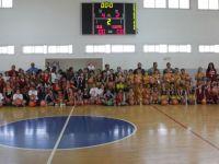 KTÖS ilkokullar arası Talat Akkor Basketbol Şöleni'nin ilk ayağı dün yapıldı