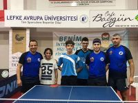 LAÜ Masa Tenisi Takımı Türkiye Liginde iddialı