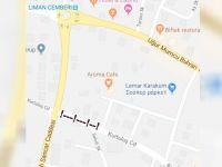 Girne'de trafiğe kapalı cadde!